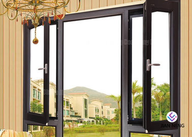 Aluminium Fixed And Awning Windows And Casement Doors With Stainless steel 304# Flyscreen